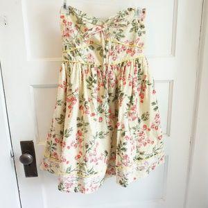 Gabriella Rocha Flower shivering Mini Dress